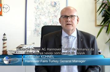 Hannover Fairs Turkey Fuarcılık - Atv Avrupa İş Dünyası / 10.11.2018